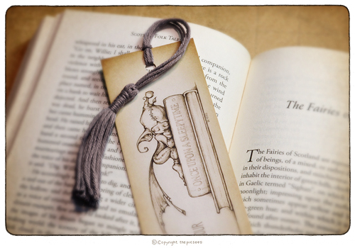 a bookmark for your bedtime stories